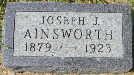 AINSWORTH, JOSEPH J - Lincoln County, South Dakota | JOSEPH J AINSWORTH - South Dakota Gravestone Photos