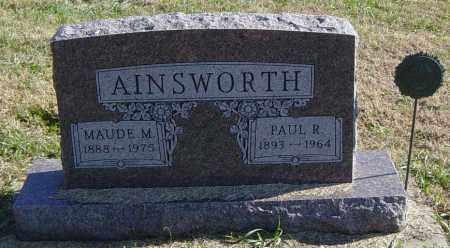 AINSWORTH, MAUDE M - Lincoln County, South Dakota | MAUDE M AINSWORTH - South Dakota Gravestone Photos