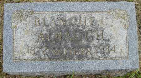 ALBAUGH, BLANCHE C - Lincoln County, South Dakota | BLANCHE C ALBAUGH - South Dakota Gravestone Photos