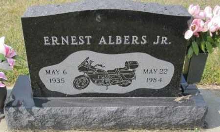 ALBERS JR., ERNEST - Lincoln County, South Dakota | ERNEST ALBERS JR. - South Dakota Gravestone Photos