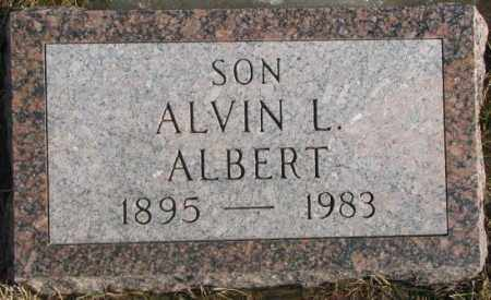 ALBERT, ALVIN L. - Lincoln County, South Dakota | ALVIN L. ALBERT - South Dakota Gravestone Photos