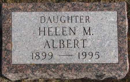 ALBERT, HELEN M. - Lincoln County, South Dakota   HELEN M. ALBERT - South Dakota Gravestone Photos