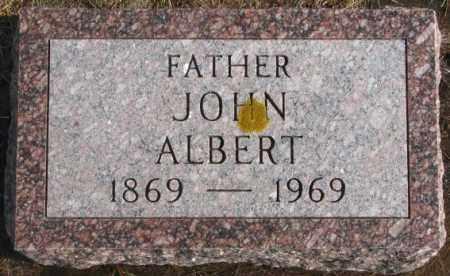 ALBERT, JOHN - Lincoln County, South Dakota   JOHN ALBERT - South Dakota Gravestone Photos