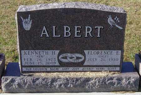 EKLE ALBERT, FLORENCE E - Lincoln County, South Dakota | FLORENCE E EKLE ALBERT - South Dakota Gravestone Photos