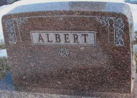 ALBERT, PLOT - Lincoln County, South Dakota   PLOT ALBERT - South Dakota Gravestone Photos