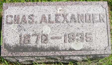 ALEXANDER, CHAS - Lincoln County, South Dakota | CHAS ALEXANDER - South Dakota Gravestone Photos