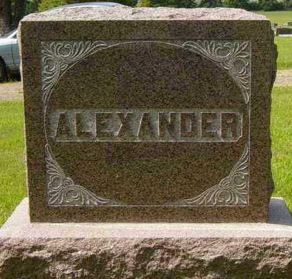 ALEXANDER, FAMILY MEMORIAL - Lincoln County, South Dakota | FAMILY MEMORIAL ALEXANDER - South Dakota Gravestone Photos