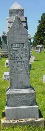 ALEXANDER, GUY - Lincoln County, South Dakota | GUY ALEXANDER - South Dakota Gravestone Photos