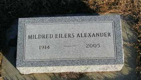 ALEXANDER, MILDRED - Lincoln County, South Dakota | MILDRED ALEXANDER - South Dakota Gravestone Photos