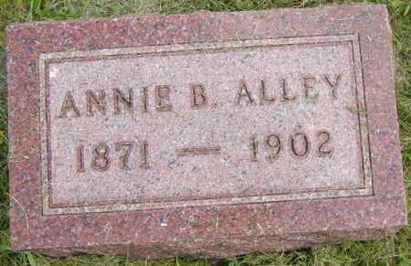 ALLEY, ANNIE B - Lincoln County, South Dakota   ANNIE B ALLEY - South Dakota Gravestone Photos