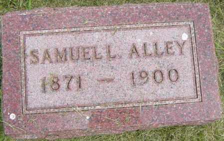 ALLEY, SAMUEL L - Lincoln County, South Dakota | SAMUEL L ALLEY - South Dakota Gravestone Photos