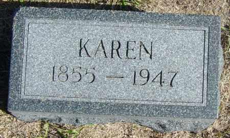 ALNESS, KAREN - Lincoln County, South Dakota   KAREN ALNESS - South Dakota Gravestone Photos