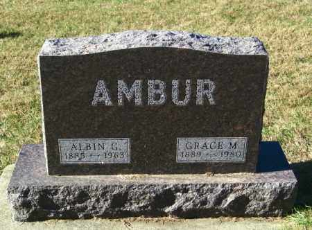AMBUR, GRACE M - Lincoln County, South Dakota | GRACE M AMBUR - South Dakota Gravestone Photos