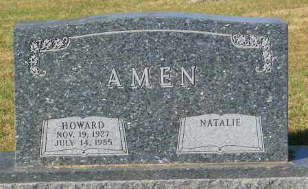 AMEN, HOWARD - Lincoln County, South Dakota | HOWARD AMEN - South Dakota Gravestone Photos