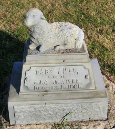 AMES, BABY - Lincoln County, South Dakota | BABY AMES - South Dakota Gravestone Photos