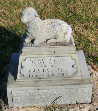 AMES, BABY - Lincoln County, South Dakota   BABY AMES - South Dakota Gravestone Photos