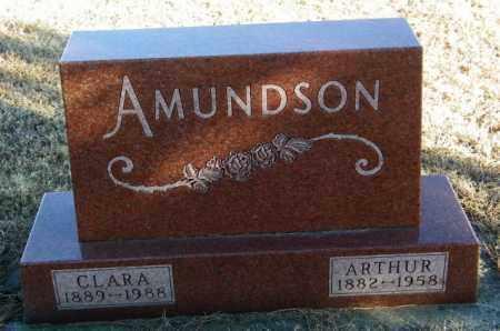 AMUNDSON, CLARA - Lincoln County, South Dakota | CLARA AMUNDSON - South Dakota Gravestone Photos