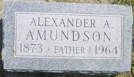 AMUNDSON, ALEXANDER A - Lincoln County, South Dakota | ALEXANDER A AMUNDSON - South Dakota Gravestone Photos