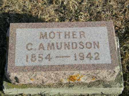 AMUNDSON, C - Lincoln County, South Dakota | C AMUNDSON - South Dakota Gravestone Photos