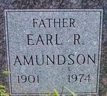 AMUNDSON, EARL R - Lincoln County, South Dakota | EARL R AMUNDSON - South Dakota Gravestone Photos