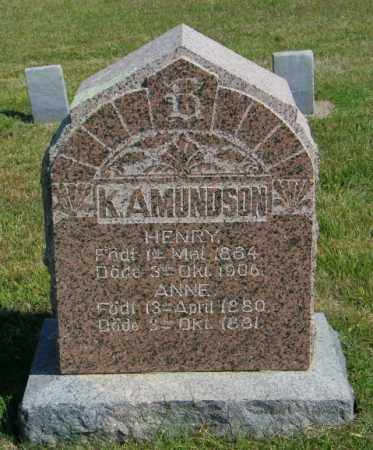 AMUNDSON, HENRY - Lincoln County, South Dakota | HENRY AMUNDSON - South Dakota Gravestone Photos