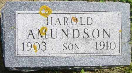 AMUNDSON, HAROLD - Lincoln County, South Dakota | HAROLD AMUNDSON - South Dakota Gravestone Photos