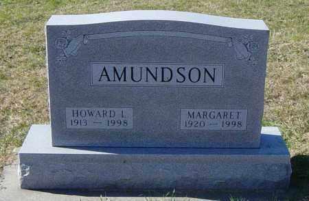 AMUNDSON, MARGARET - Lincoln County, South Dakota   MARGARET AMUNDSON - South Dakota Gravestone Photos