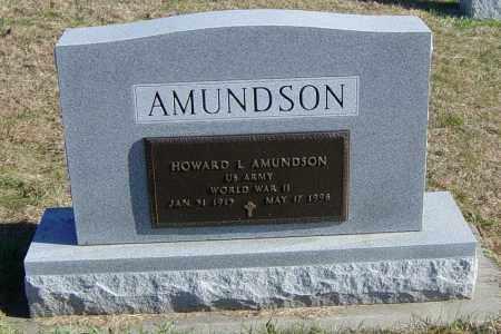 AMUNDSON MILITARY, HOWARD L - Lincoln County, South Dakota | HOWARD L AMUNDSON MILITARY - South Dakota Gravestone Photos