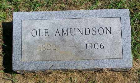 AMUNDSON, OLE - Lincoln County, South Dakota | OLE AMUNDSON - South Dakota Gravestone Photos
