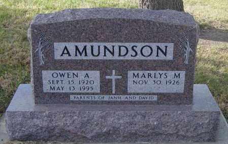 AMUNDSON, OWEN A - Lincoln County, South Dakota | OWEN A AMUNDSON - South Dakota Gravestone Photos