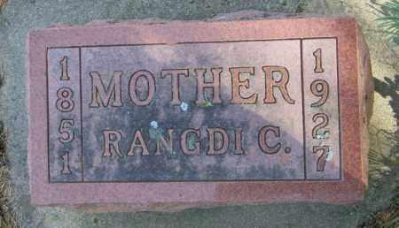 AMUNDSON, RANGDI C - Lincoln County, South Dakota | RANGDI C AMUNDSON - South Dakota Gravestone Photos