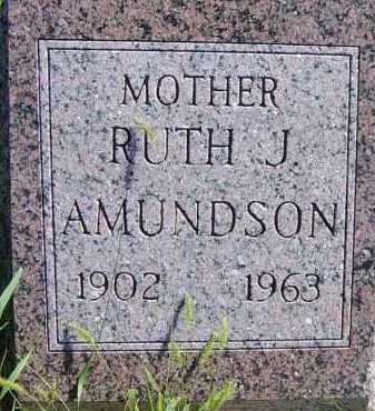 AMUNDSON, RUTH J - Lincoln County, South Dakota   RUTH J AMUNDSON - South Dakota Gravestone Photos