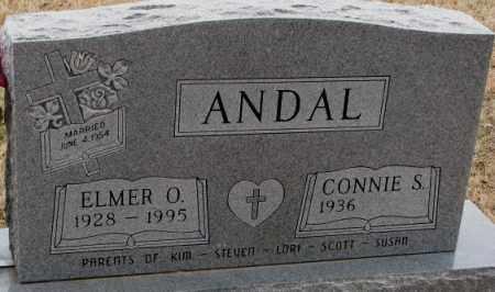 ANDAL, ELMER O. - Lincoln County, South Dakota | ELMER O. ANDAL - South Dakota Gravestone Photos