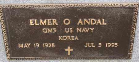 ANDAL, ELMER O. (KOREA) - Lincoln County, South Dakota   ELMER O. (KOREA) ANDAL - South Dakota Gravestone Photos