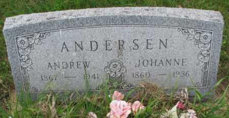 ANDERSEN, JOHANNE - Lincoln County, South Dakota | JOHANNE ANDERSEN - South Dakota Gravestone Photos