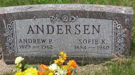 ANDERSEN, ANDREW P. - Lincoln County, South Dakota | ANDREW P. ANDERSEN - South Dakota Gravestone Photos