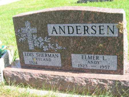ANDERSON, LOIS - Lincoln County, South Dakota   LOIS ANDERSON - South Dakota Gravestone Photos