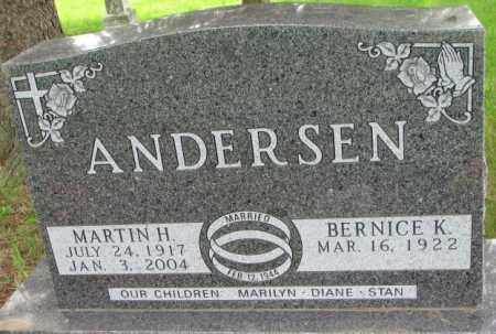 ANDERSEN, MARTIN H. - Lincoln County, South Dakota | MARTIN H. ANDERSEN - South Dakota Gravestone Photos