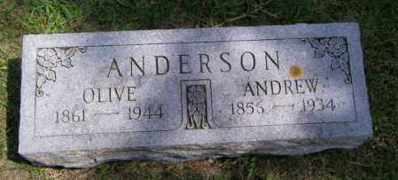 ANDERSON, ANDREW - Lincoln County, South Dakota | ANDREW ANDERSON - South Dakota Gravestone Photos