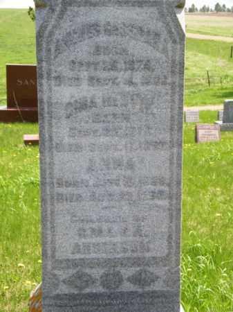 ANDERSON, ANNA - Lincoln County, South Dakota   ANNA ANDERSON - South Dakota Gravestone Photos