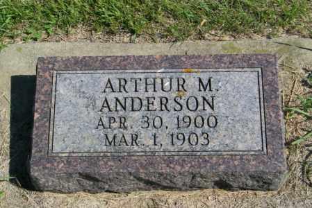 ANDERSON, ARTHUR M - Lincoln County, South Dakota   ARTHUR M ANDERSON - South Dakota Gravestone Photos