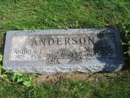 ANDERSON, ANDERS T - Lincoln County, South Dakota | ANDERS T ANDERSON - South Dakota Gravestone Photos