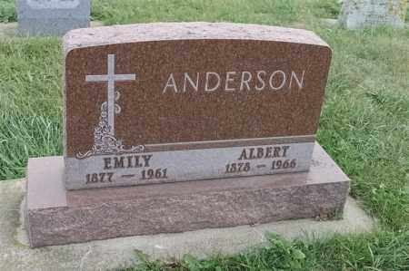 ANDERSON, EMILY - Lincoln County, South Dakota | EMILY ANDERSON - South Dakota Gravestone Photos