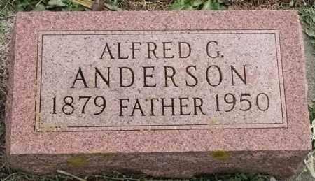 ANDERSON, ALFRED G - Lincoln County, South Dakota | ALFRED G ANDERSON - South Dakota Gravestone Photos