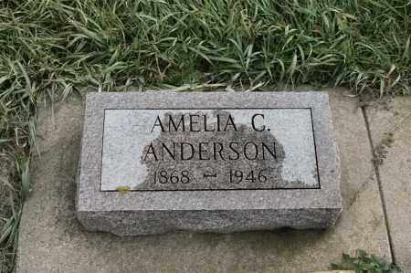 ANDERSON, AMELIA C - Lincoln County, South Dakota | AMELIA C ANDERSON - South Dakota Gravestone Photos