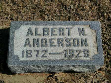 ANDERSON, ALBERT N - Lincoln County, South Dakota | ALBERT N ANDERSON - South Dakota Gravestone Photos