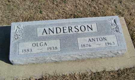 ANDERSON, ANTON - Lincoln County, South Dakota | ANTON ANDERSON - South Dakota Gravestone Photos