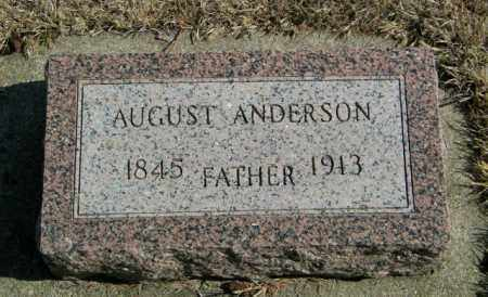 ANDERSON, AUGUST - Lincoln County, South Dakota   AUGUST ANDERSON - South Dakota Gravestone Photos