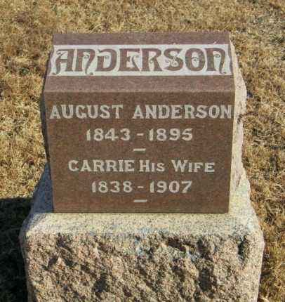 ANDERSON, CARRIE - Lincoln County, South Dakota | CARRIE ANDERSON - South Dakota Gravestone Photos