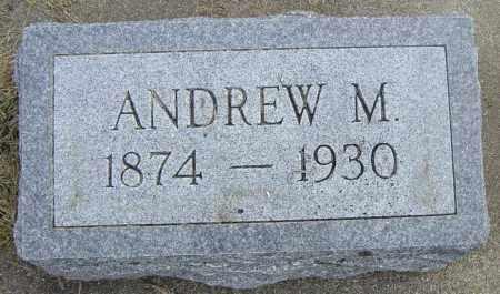 ANDERSON, ANDREW M - Lincoln County, South Dakota | ANDREW M ANDERSON - South Dakota Gravestone Photos